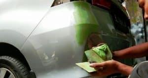 Cara Dempul Mobil