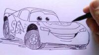Cara Gambar Mobil Balap
