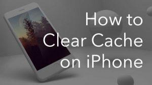 Cara Clear Cache iPhone