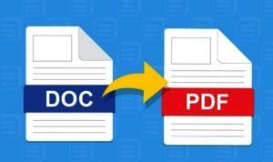 Cara Export Word ke PDF