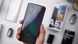 Cara Kunci Aplikasi di Samsung A51