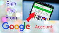 Cara Log Out Google Account