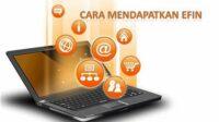 Cara mendaftar EFIN online