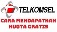 Cara Mendapatkan Kuota Gratis Telkomsel